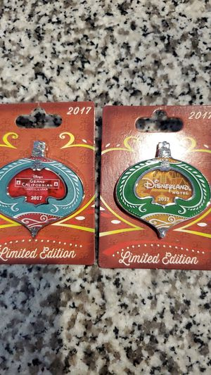 Disney christmas ornaments pins for Sale in Mascotte, FL