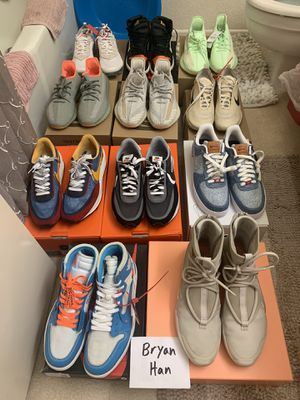 Nike, Yeezy, Off White Sizes 10-11 NO TRADES for Sale in Buena Park, CA