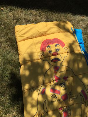 Sleeping Bag. (Yellow/Lt Blue Character) for Sale in Highlands Ranch, CO