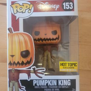 Pumpkin King Nightmare Before Christmas Hot Topic Exclusive Funko for Sale in Los Angeles, CA