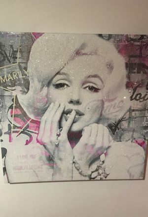 Beautiful Marilyn Monroe piece WORK OF ART!! for Sale in Miami, FL
