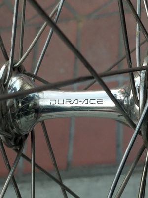 Front wheel with Dura ace hub for Sale in US