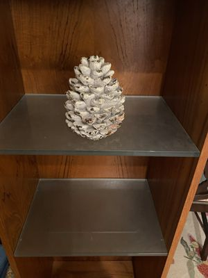 Large Christmas Pinecone Candle for Sale in Suffolk, VA
