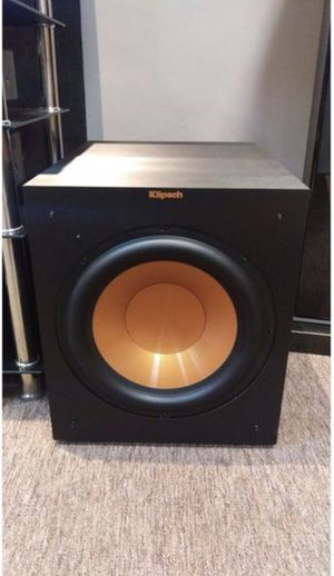 "Klipsch R-12SW + Bluetooth Connector (12"" Subwoofer) for Sale in St. Louis, MO"