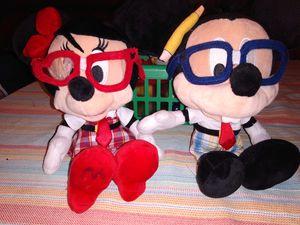 Nerd Minnie & Mickey for Sale in El Paso, TX