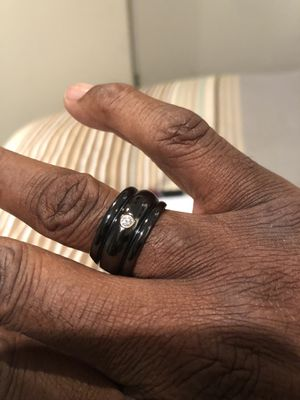 Men's diamond and titanium ring for Sale in Washington, DC