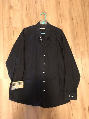 Burberry designer dress shirt for Sale in Seattle, WA
