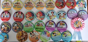 39 Disney and Disneyland buttons for Sale in Auburn, WA