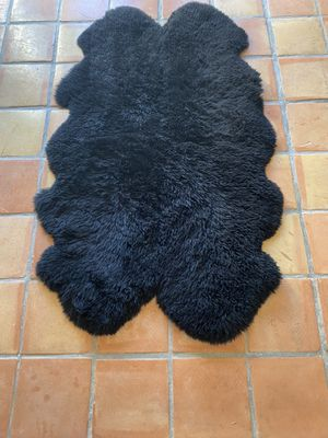 Pure sheep skin rug for Sale in Marina del Rey, CA
