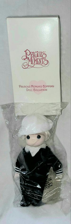 PRECIOUS MOMENTS MILITARY NAVY SAILOR BOY DOLL for Sale in Las Vegas, NV