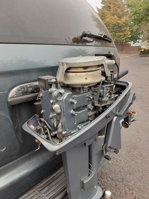 94 8hp Yamaha long shaft runs excellent for Sale in Portland, OR