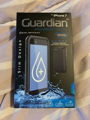iPhone 7 case with battery charger for Sale in Monaca, PA