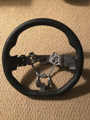SUBARU OEM PARTS 2019 WRX LIMITED EDITION STEERING WHEEL LEATHER RED STITCH JDM for Sale in Buena Park, CA