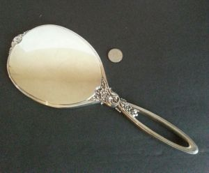 R. Blackington and Co. Sterling Silver Hand Mirror for Sale in St. Petersburg, FL