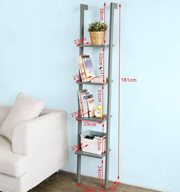 Ladder bookshelf / bookcase