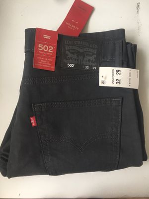Mens Levi 502 jeans w/ tags 32x29 for Sale in Denver, CO