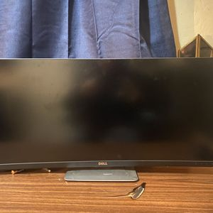 Dell monitor curved 34 in (U3415W) for Sale in Fremont, CA