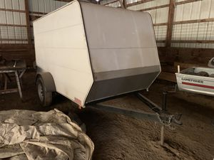 Enclosed Carson trailer in good condition in storage in Belvidere Il approx size is 10 x 5 x 5 for Sale in Westmont, IL