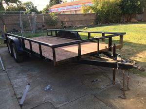 Fat bed trailer for Sale in West Sacramento, CA