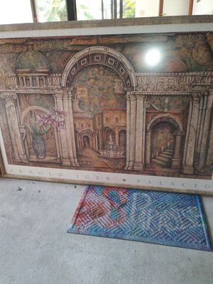 Nice frame painting for Sale in LAKE CLARKE, FL