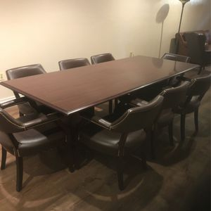 Conference Table And Chairs for Sale in Staten Island, NY