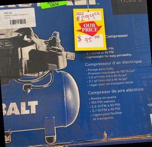 KOBALT LK3197 3-gallon Electric Air Compressor 😀😀😀 LJ6NG for Sale in Austin, TX