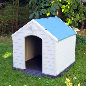 "$75 (brand new) medium dog house waterproof plastic 35x31x32"" for Sale in Whittier, CA"