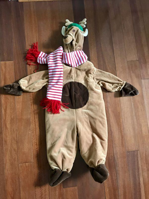 Reindeer costume size 12-15 months