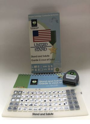 Stand and Salute Cricut Cartridge for Sale in Tampa, FL