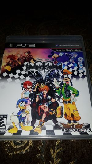 Kingdom hearts HD I.5 remix ps3 game for Sale in El Cajon, CA