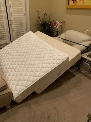 Free Full mattress, box springs and frame for Sale in Mission Viejo, CA