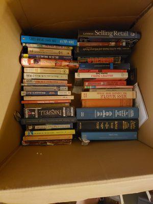 Assorted books 2$/paperback 5$/hardback obo for Sale in Peoria, IL