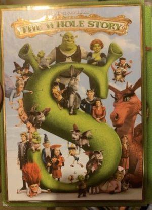 Disney dreamworks Shrek the whole story dvd Used bundle lot for Sale in Denver, CO