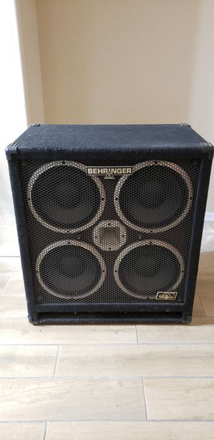 Behringer 4x10 1200W Bass Cab for Sale in Phoenix, AZ