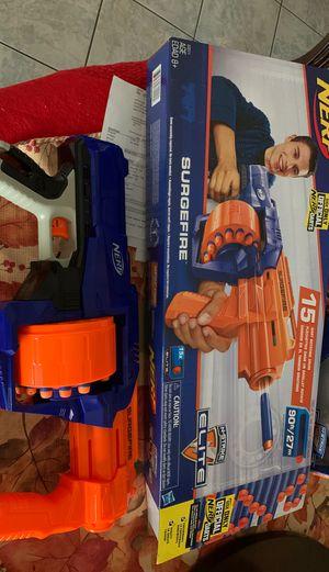 Nerf gun surgefire elite for Sale in Corona, CA
