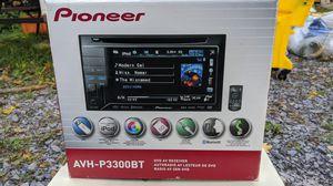Pioneer DVD av receiver stereo model avh-p3300bt for Sale in Marietta, NY