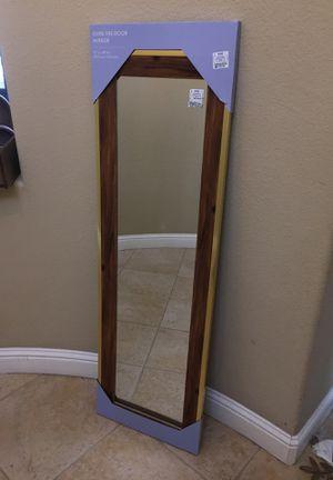 Over the door mirror! Brand new! for Sale in Lathrop, CA