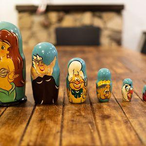 1994 Disney Little Mermaid Wood Dolls for Sale in La Puente, CA
