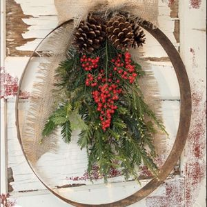 Christmas Wreath Freshly Made for Sale in Puyallup, WA
