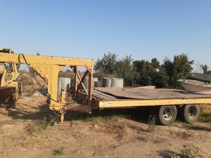 Zieman equipment trailer for Sale in Turlock, CA