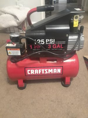 Craftsman air compressor for Sale in Indianapolis, IN