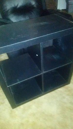 Black 4 cube shelf for Sale in Fresno, CA