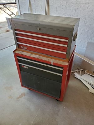 Rolling tool cart with miscellaneous tools for Sale in Scottsdale, AZ