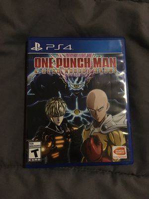 One punch man a hero nobody knows ps4 for Sale in Alexandria, VA