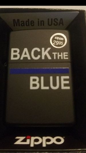 Zippo Lighter: Police, Back the Blue for Sale in Whittier, CA
