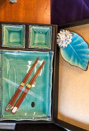 Turquoise Tableware for Sale in Hainesport, NJ