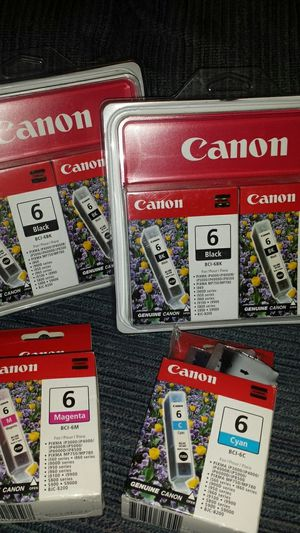 Canon printer ink -7 cartridges for Sale in Victoria, VA
