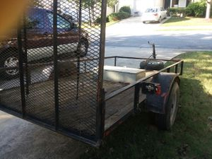 Trailer with hitch for Sale in Dallas, GA