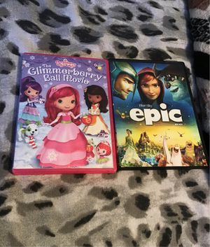 Movies ( Epic & strawberry shortcake) for Sale in Oakland, CA