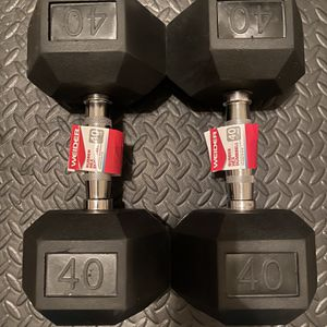 WEIDER 40 LBS DUMBBELLS for Sale in Bakersfield, CA